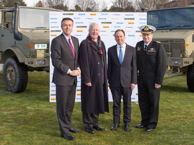 Defence joins Tyre Stewardship Australia