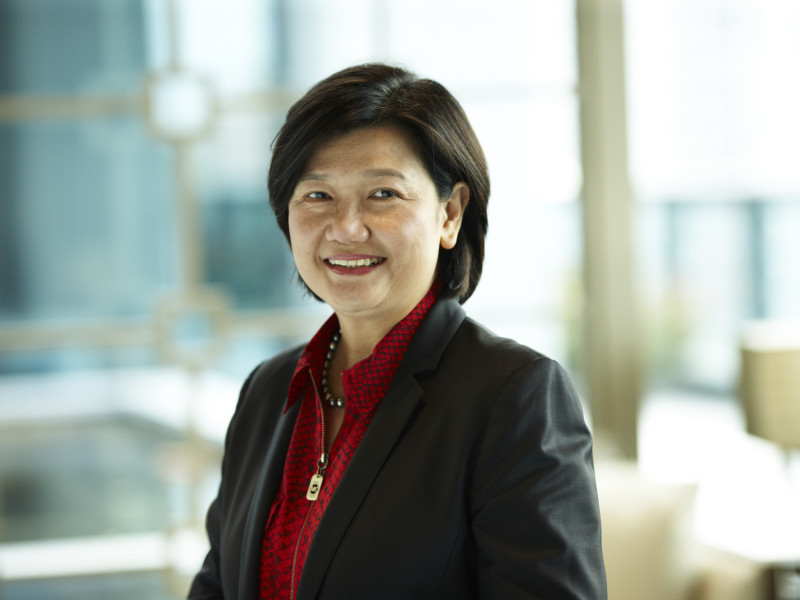 Hyflux Group CEO Olivia Lum comments on waste to energy plant