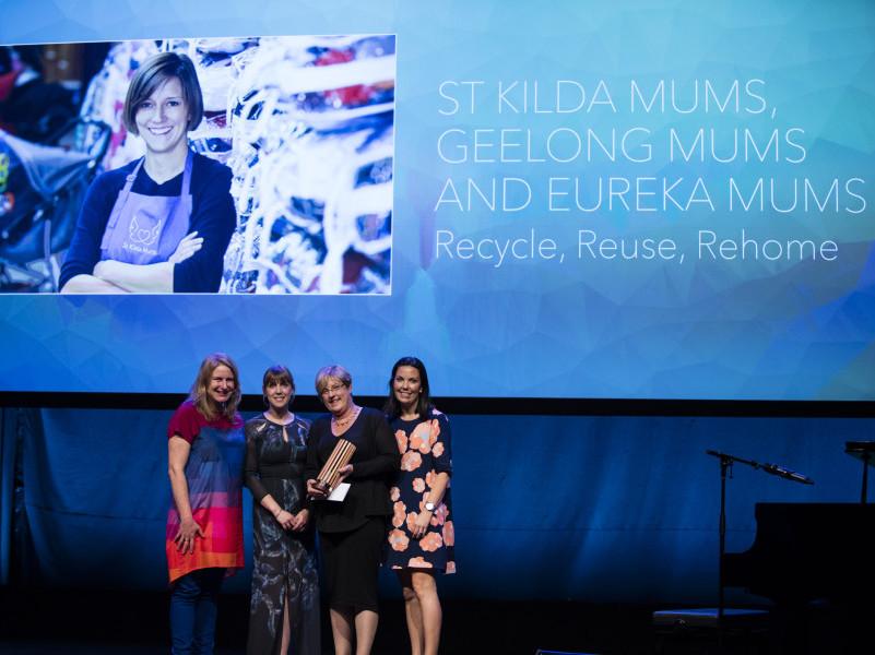 Mums' groups win Premier's Sustainability Award