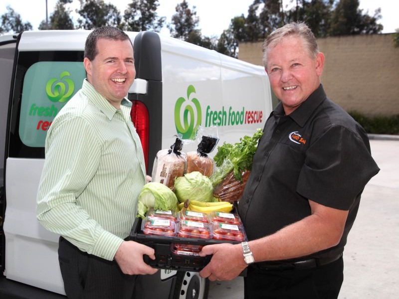 Woolworths helps charities with its food rescue provision