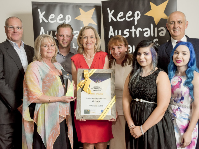 Frankston City Council presented with KAB's 2015 Sustainable Cities Award