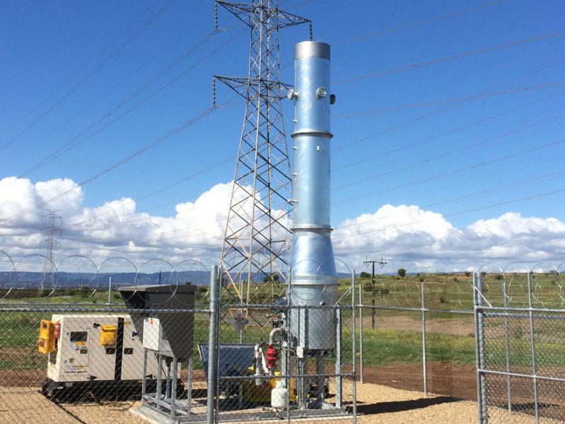 Landfill gas monitoring at Garden Island Landfill
