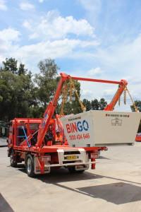 A Bingo Industries skiploader