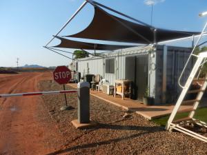 The new Kununurra Landfill site gatehouse