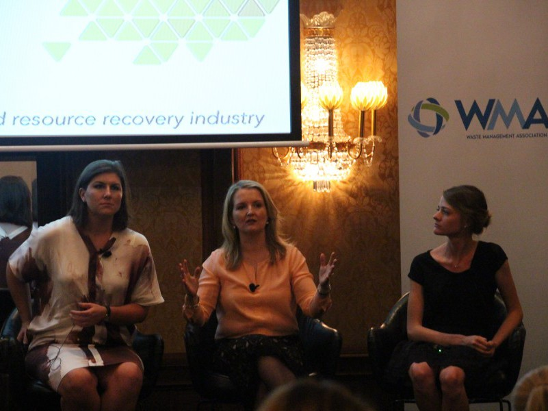 Speakers at the WMAA Women in the Environment Leadership Lunch, Melbourne