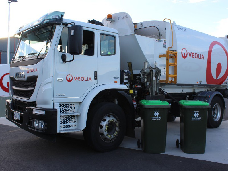 City of Hobart awards Veolia green waste kerb side collection contract