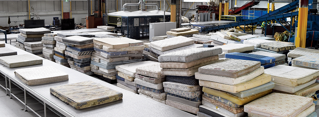 Tic Group Mattress Recycling Plant Tottenham Vic Waste