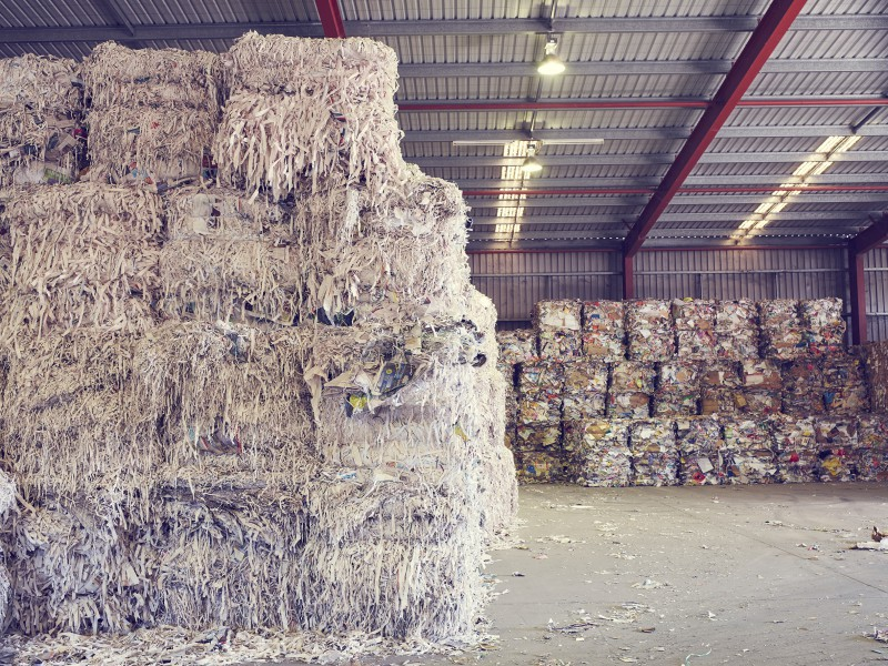 Inside the Cleanaway Hemmant Recycling and Resource Recovery Centre
