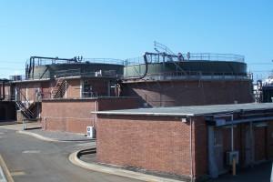 Cronulla Sewage Treatment Plant digesters