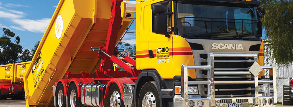 Corio Waste Management and Scania joining forces for waste services
