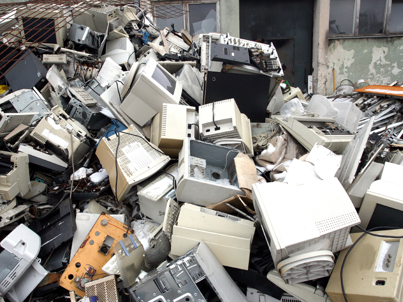 End of life computers are recycled under NTCRS