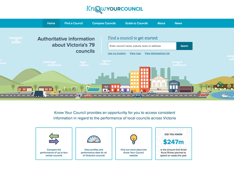 Victoria Government launches Know Your Council portal