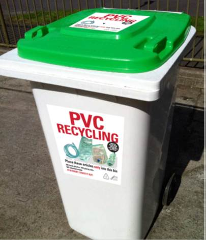 PVC Recycling in Hospitals goes international