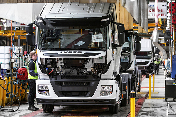 Increased local production gives IVECO Australia a boost