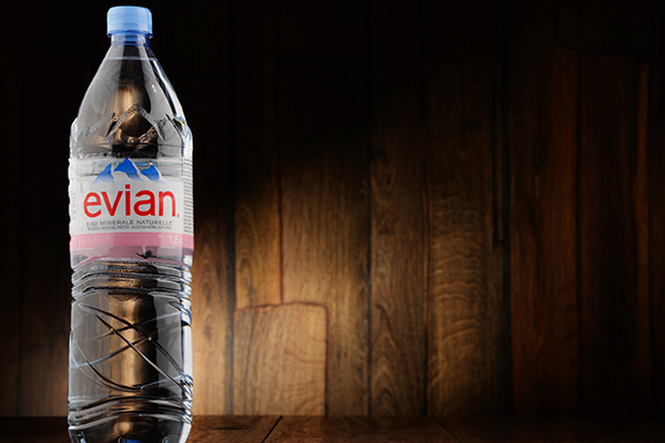 Evian pledges 100 per cent recycled plastic by 2025