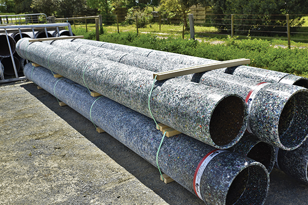 Applied Machinery helps RPM Pipe develop cleaner recycled products
