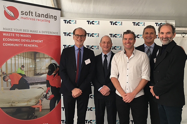 Tic Mattress Recycling Passes The Baton To Soft Landing Waste