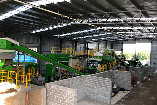Downer partner with CDEnviro for Sydney detritus processing facility