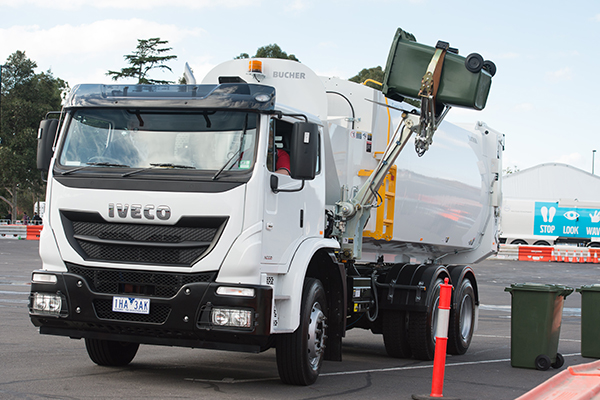 IVECO provides a complete refuse collection solution