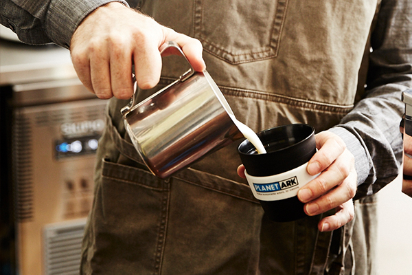 Planet Ark partner with Bingo Industries to divert coffee grounds