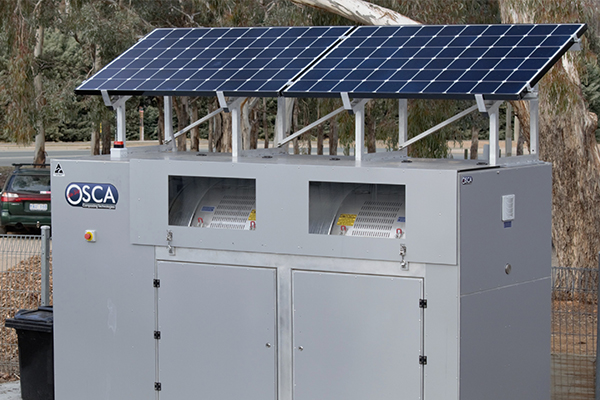 New solar powered composter for Canberra community