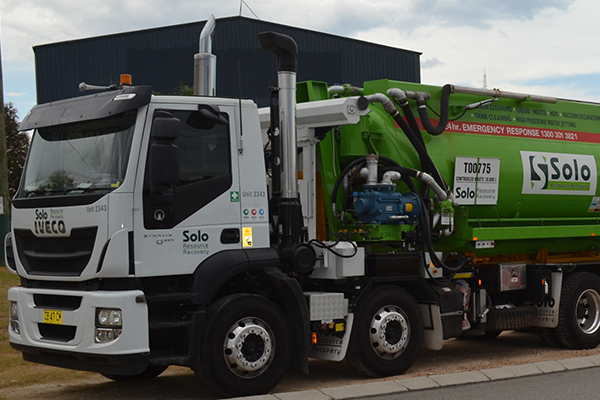 The all-rounder: Solo Waste's IVECO Stralis model