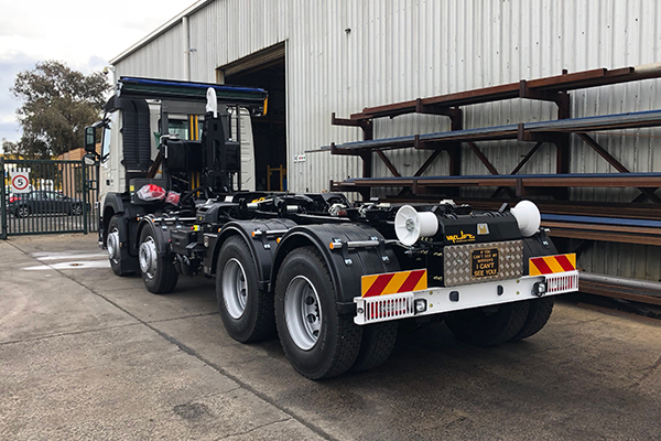Monash City Council procures hooklift from Vaclift and CMV Truck and Bus