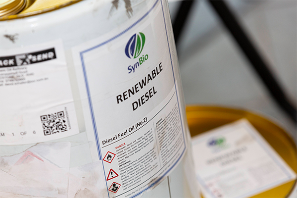 Southern Oil trials renewable diesel fuel from old tyres