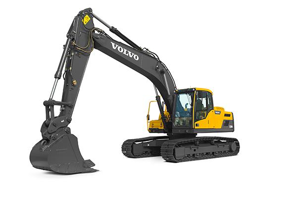 Volvo EC220D excavators from CJD Equipment