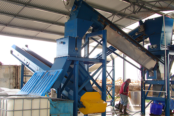 Brentwood LS50CF separation plant