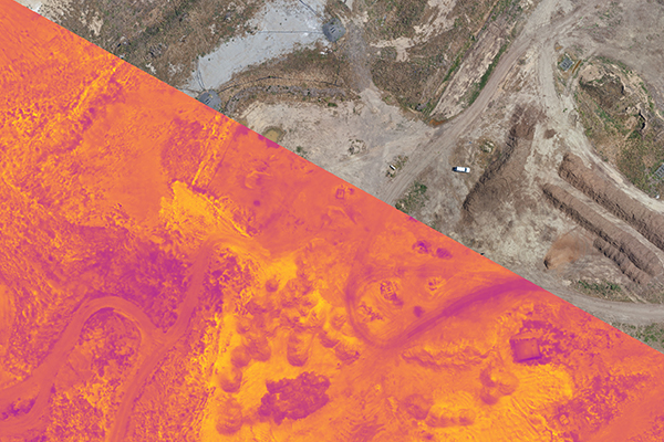 Landair Surveys solution to identify landfill hotspots