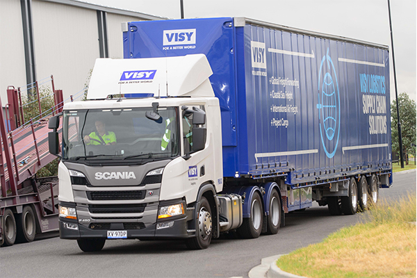 Scania and Visy work towards sustainability