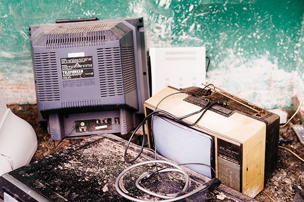Think tank asks if Victoria's ready for the e-waste ban?