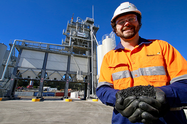 Downer opens soft plastics asphalt plant in Lake Macquarie
