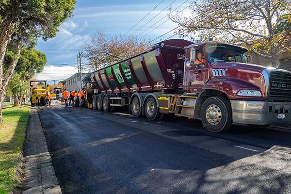 City of Bayside uses recycled asphalt