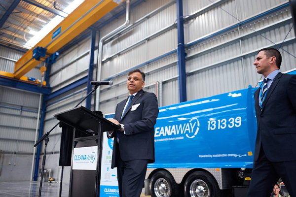 Cleanaway opens new Melbourne depot