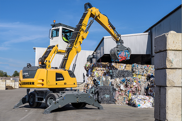 Liebherr's customised material handlers
