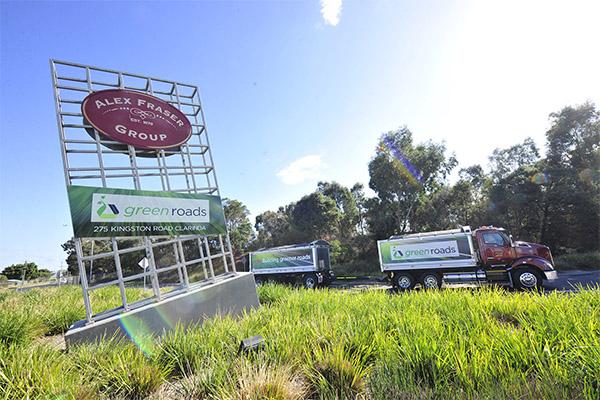Alex Fraser glass recycling site under threat