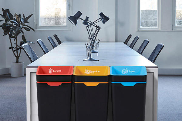 The behaviour changing bins